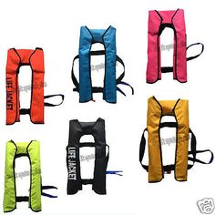 Adult automatic #manual #inflatable life jacket 150n sailing #boating 5 colors,  View more on the LINK: 	http://www.zeppy.io/product/gb/2/142036871908/