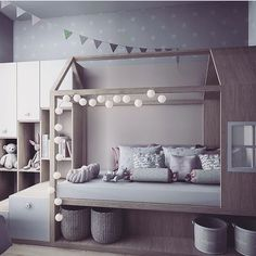 60 affordable kids bedroom design ideas that suitable for kids 16 Big Girl Rooms, Boy Room, Baby Bedroom, Girls Bedroom, Kid Bedrooms, 70s Bedroom, Childrens Bedroom, Minimalist Room, Toddler Rooms