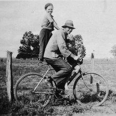 A snapshot of Australia's early bike history (via CycleLove)
