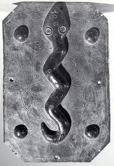 Plaque: Snake, Edo peoples, Nigeria, Court of Benin, 16th-17th century. Metropolitan Museum of Art.