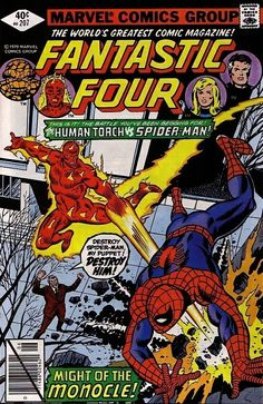 Fantastic Four #207 - Might of the Monocle!