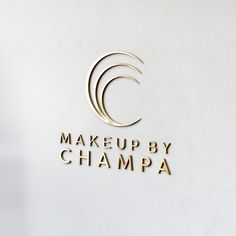 Create a feminine, chic, luxury, modern logo for a makeup and eyelash studio by Anna Rid