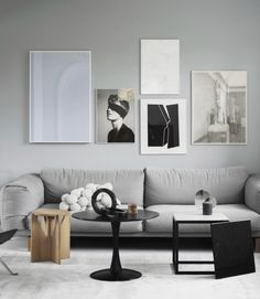 More from Kristina Dam's home - via Coco Lapine Design blog