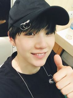 Does Yoongi have a patch on??? What did the poor baby do?