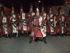 Fiestas de Moros y Cristianos en la localidad alicantina de Albatera.