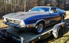 A Trio Of Big '70S Mustangs - http://barnfinds.com/a-trio-of-big-70s-mustangs/
