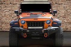 VMP 4x4 Front Ultima Bumper Jeep Wrangler JK JKU VPR-126-SP6