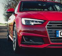 All new Audi A4 Saloon headlights