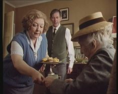 1992. The Mirror Crack'd from Side to Side. Judy Cornwell as Heather Badcock, Joan Hickson as Miss Marple. (Miss Marple TV Series.)