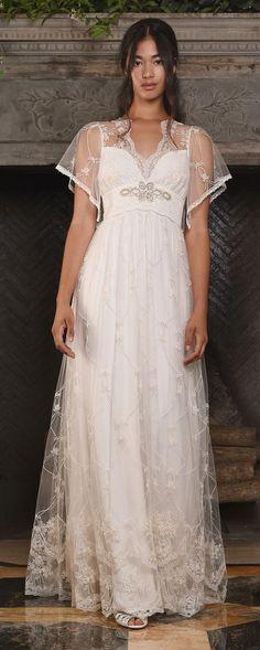 Claire Pettibone Couture Vinatge Wedding Dresses 2017 Theia / http://www.himisspuff.com/claire-pettibone-fall-wedding-dresses-2017/5/