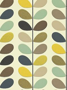 Buy Orla Kiely House for Harlequin Multi Stem Wallpaper, Multicoloured, 110385 online at JohnLewis.com - John Lewis