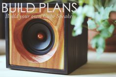 DIY Cube Speakers | Build Plans — Salvage Audio || California Crafted | Quality Wood Speakers