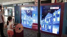체험아이템 two tone hair color ideas - Hair Color Ideas Interactive Display, Interactive Media, Interactive Installation, Interactive Design, Display Design, Store Design, Digital Drums, Office Wall Design, Museum Exhibition Design