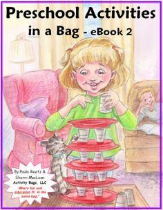 Preschool Activities in a Bag -eBook 2 - Activity Bags, LLC |  | Preschool | Preschool | Preschool | Arts and Crafts | Character Building | Critical Thinking SkillsCurrClick