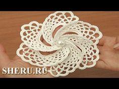 How to crochet flat beautiful flower. - Crochet Channel