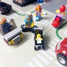 """Don't worry madam i got her!"" #lego #legominifigures #legocity #thatwasclose #legostagram #instalego by legolanding"
