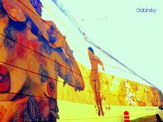 23 de enero de 2015 - PAZ PARA LA MUJER  Morivivi *¡Continuan como una de mis favoritas grafiteras! Ave. Manuel Fernández Juncos con Ramón Baldorioty de Castro