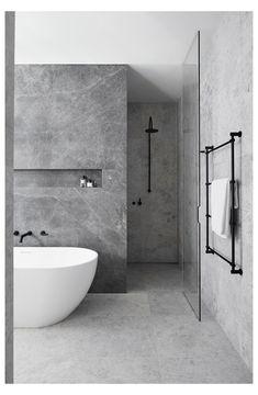Bathroom Tile Designs, Modern Bathroom Design, Bathroom Interior Design, Bathroom Ideas, Bathroom Inspo, Bathroom Organization, Bathroom Wall, Bath Design, Modern Design