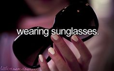 Cause it means the sun is shining :)
