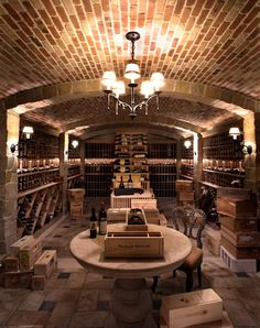 Traditional Spaces Wine Room Design Pictures Remodel Decor And Ideas