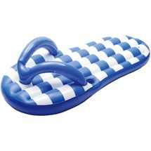 Marine Blue Flip Flop Inflatable Pool Float - Overstock Shopping - The Best Prices on Blue Wave Inflatables