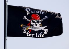 Cool flag: Pirate for life.