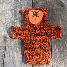 Knit Tiger Puppet by Susansweaters on Etsy, $5.00