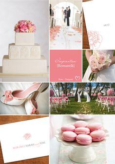 Inspirationsboard - Rosa Hochzeit - Wedding Inspiration rose - Empfohlen von www.himmelreich-fotografie.de