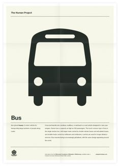 The Human Project (Bus) Poster
