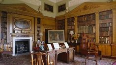 View of the Library at Nostell Priory © National Trust Images/Andreas von Einsiedel