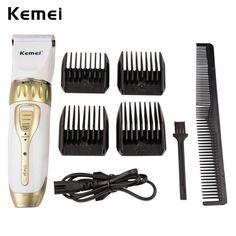 Kemei Professional Hair Clipper Adjustable Haircut Machine Hair Cutting Machine Electric Hair Beard Trimmer Cutter Men Kids A50