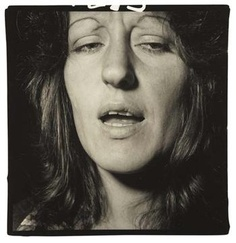 DIANE ARBUS  Germaine Greer, NYC,1971