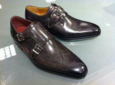 Magnanni Monk Straps at Nordstrom Men's Shoes in Paramus, NJ