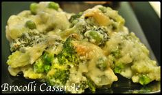 An easy and yummy Broccoli and Parmesan Cheese casserole. Is a great way to use fresh broccoli or in a pinch, frozen broccoli florets will work. One of our favorites! I omitted peas and used Carbquick instead of flour. Parmesan Broccoli, Fresh Broccoli, Frozen Broccoli, Vegetarian Cooking, Vegetarian Recipes, Healthy Recipes, Healthy Food, Side Dish Recipes, Side Dishes