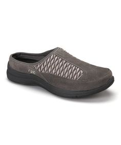 This Charcoal Freelance Leather Clog by Ryka is perfect! #zulilyfinds