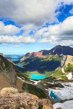 Grinnell Glacier Overlook in Glacier National Park   GI 365 Hike FtLR