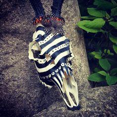 skull art VII / INKTICA / Jagoda Matuła