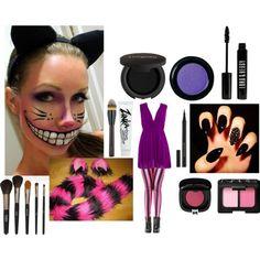 DIY Cheshire Cat Makeup