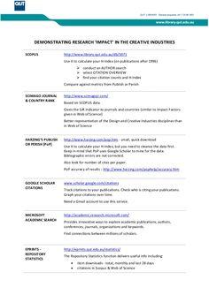 Bibliometrics thesis or dissertation
