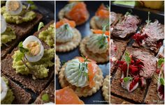 Bufet suedez idei de preparate reci festive Savori Urbane Romanian Food, Breakfast Pancakes, Appetisers, Meat Loaf, Roast Beef, Sushi, Muffin, Ethnic Recipes, Drink