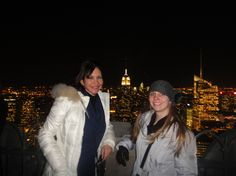 Top of the Rockefeller Building New New City