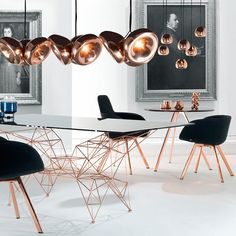 The Void lamps by #TomDixon reference the Olympic medals with three metallic finishes: brass, polished stainless steel and copper. Shop at interior-deluxe.com #modern #design #photooftheday #moderninspo