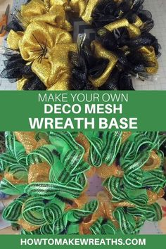 Watch this 5 minute video and learn how to make a quick DIY wreath base for your deco mesh projects! This is one you'll use over and over. Make Your Own Wreath, How To Make Wreaths, Frame Wreath, Diy Wreath, Fall Wreath Tutorial, Deco Mesh Wreaths, Christmas Wreaths, Leigh Ann, Diy Crafts