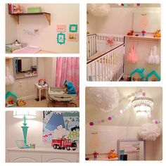 Bedroom for my one year old little girl Ainsley.