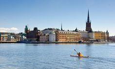 Stockholm, built across an archipelago of more than 24,000 small islands, is a harbour city criss-crossed by an extensive network of channels and waterways – hence it's label as the 'Venice of the north'. This topography presents great opportunities for kayaking; and options range from exploring the myriad channels and waterways winding through Stockholm's backstreets, to paddles on the harbour, to escaping into the wilder outer archipelago for wildlife spotting and discovering uninhabited…