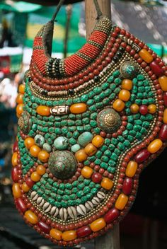 Love this Africa beaded necklace