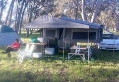 a look around my camper trailer Dirk's DIY camper trailer Diy Roof Top Tent, Diy Tent, Diy Camper Trailer, Tent Campers, Camping Glamping, Outdoor Camping, Overland Trailer, Mini Camper, Outdoor Living