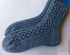 Мужские носки, помогите с описанием! - Вязание - Страна Мам