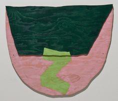 Richard Tuttle - New Mexico, New York, E, #13 - 1998
