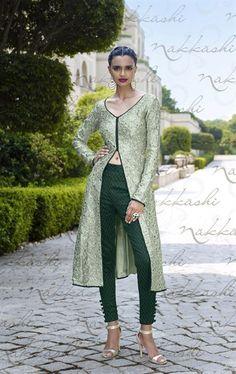 Admirable Pista Green Wedding Designer Salwar Kameez